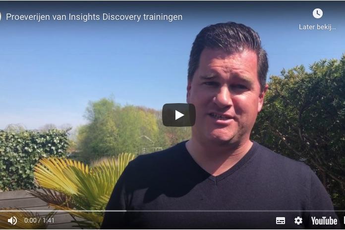Proeverijen van Insights Discovery trainingen