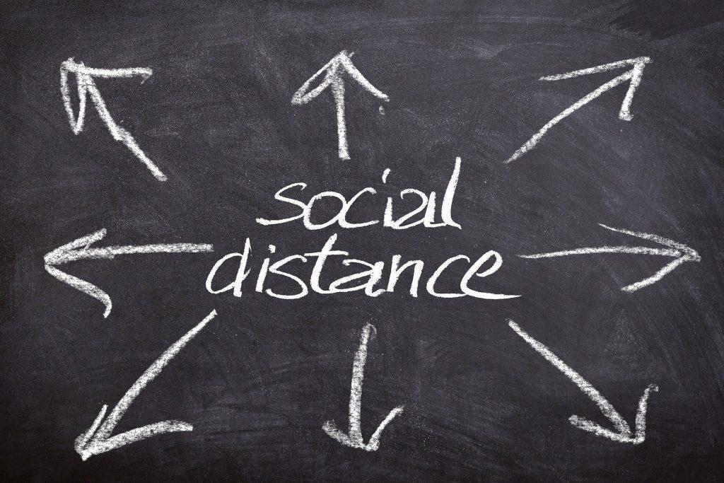 Social distancing een plaag of een zegen