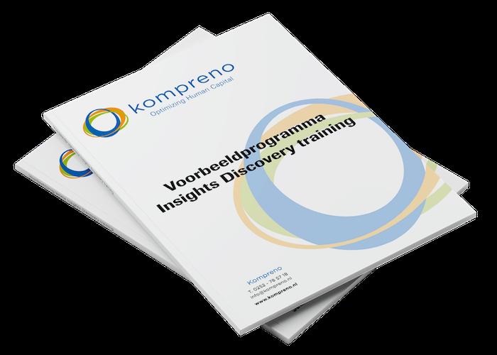 Voorbeeldprogramma Insights Discovery training